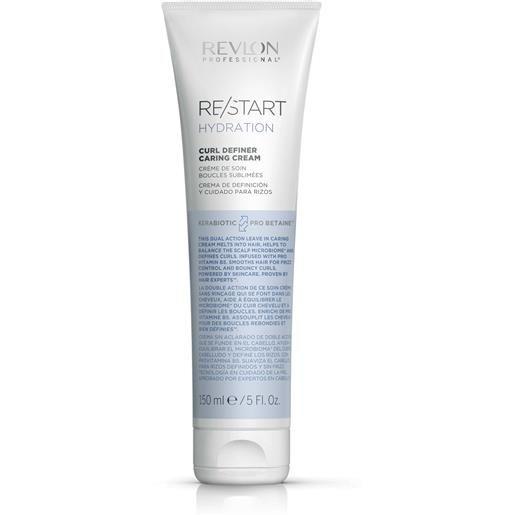 Revlon restart hydration curl definer caring cream 150 ml