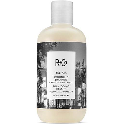 R+CO bel air lissant shampoo 241 ml.
