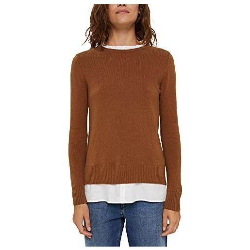 ESPRIT 990ee1i308 maglione, grigio, m donna