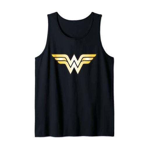 DC Comics us dc wonder woman + logo classic 01 canotta