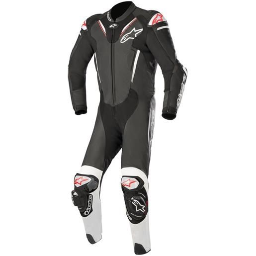 ALPINESTARS atem v3 leather suit - (black/white)