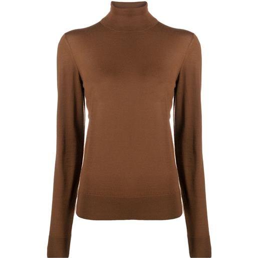 Dolce & Gabbana maglione a collo alto - marrone
