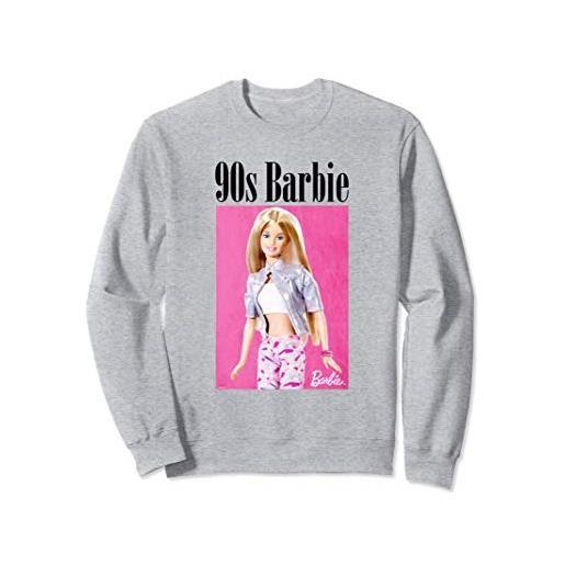 Barbie felpa Barbie da donna, ufficiale, Barbie anni 90 felpa
