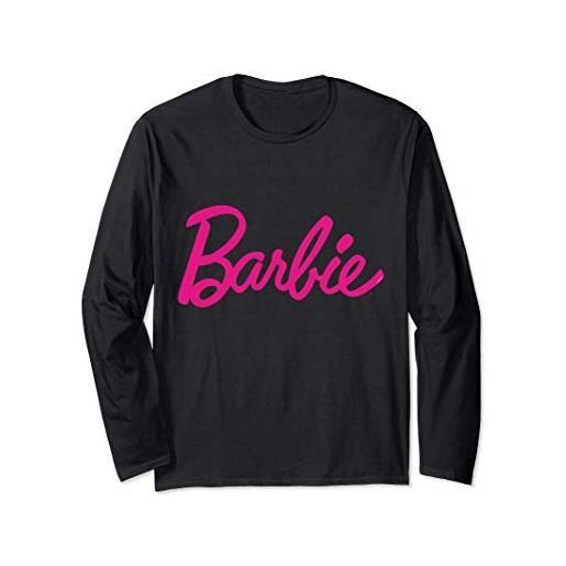 Barbie t-shirt Barbie da donna, logo Barbie ufficiale, multicolori maglia a manica