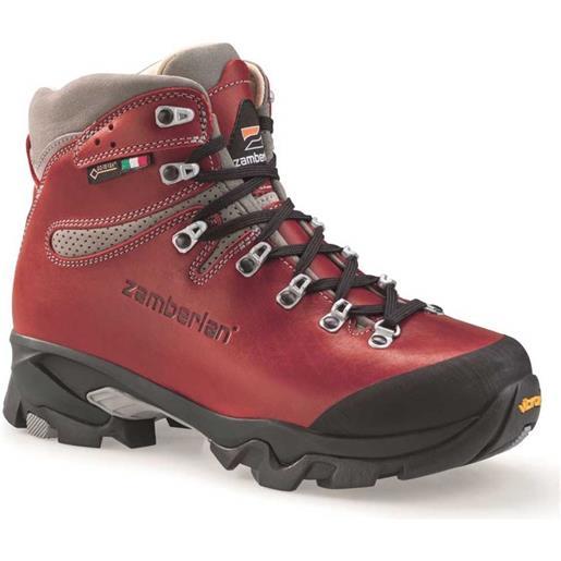 Zamberlan scarponi trekking 1996 vioz lux goretex rr eu 37 waxed red