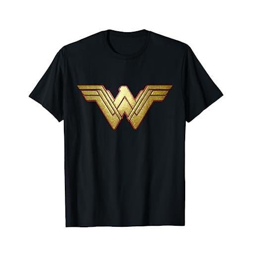 DC Movies us dceu wonder woman +logo 3d paisley 01 maglietta