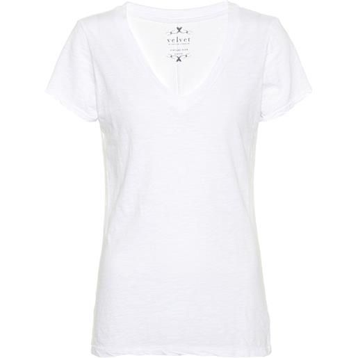 Velvet t-shirt lilith in cotone