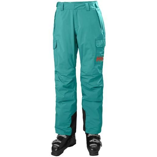 Helly Hansen pantaloni switch cargo insulated m turquoise