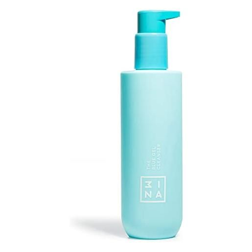 3ina vegano - cruelty free - the blue gel cleanser - gel micellare detergente - struccante viso e occhi - idratante e rinfrescante - per tutti i tipi di pelle