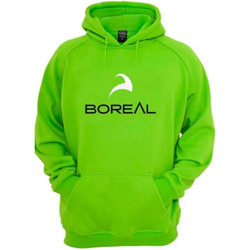 Boreal felpa con cappuccio l green logo