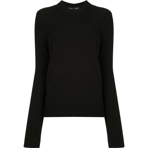 Proenza Schouler maglione a girocollo - nero