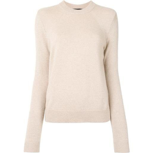 Proenza Schouler maglione a girocollo - marrone