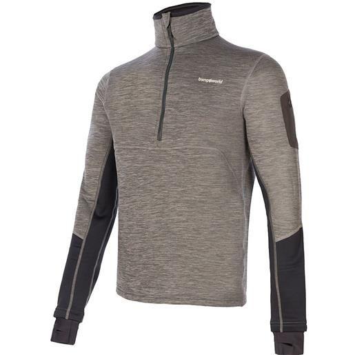 Trangoworld maglietta manica lunga chiasso s grey / grey