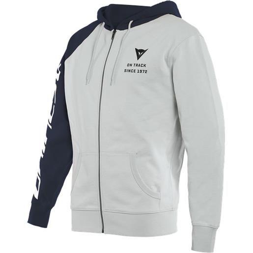 Dainese felpa Dainese paddock full zip hoodie