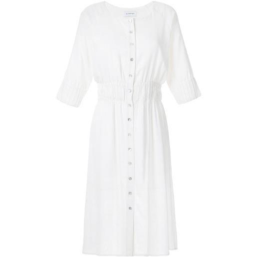 Olympiah vestito ylang aderente - bianco