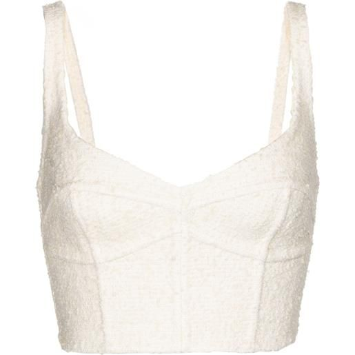 The Marc Jacobs top bustier in lana