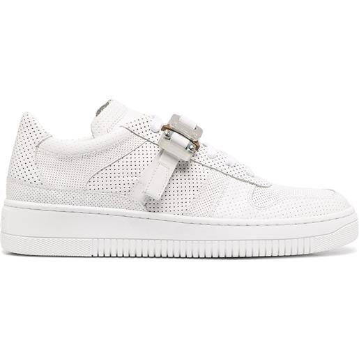 1017 ALYX 9SM sneakers con fibbia a clip - bianco