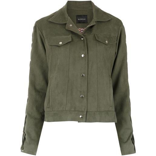 Olympiah giacca militare nápoles - verde