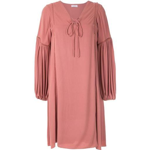 Olympiah abito con maniche ampie hagia - rosa