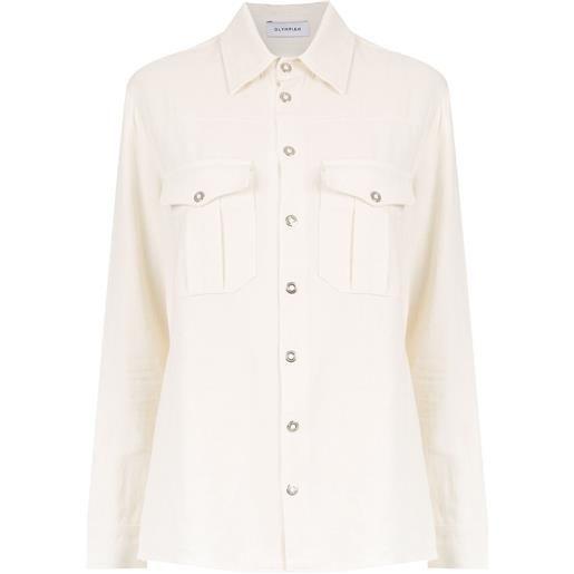 Olympiah camicia roma - bianco