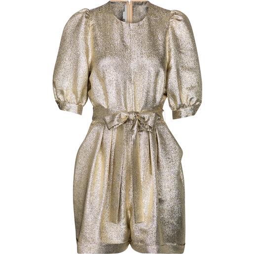 STELLA McCARTNEY jumpsuit corta in lamã©