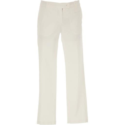 Dondup pantaloni bambina in outlet, bianco, cotone, 2021, 14y 8y