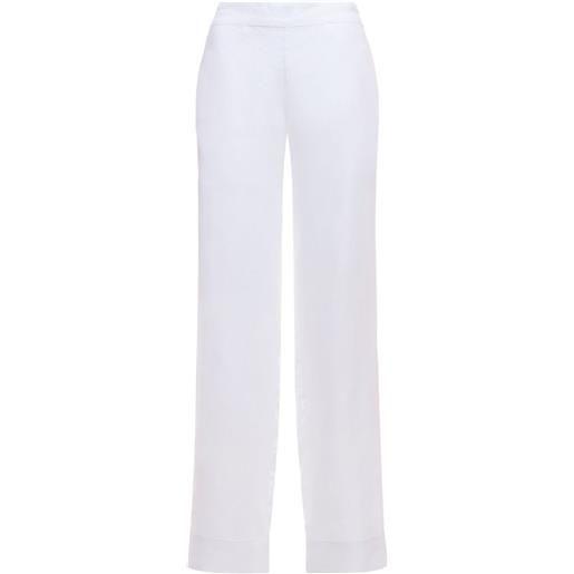 """ASCENO pantaloni pigiama """"the london"""" in lino"""