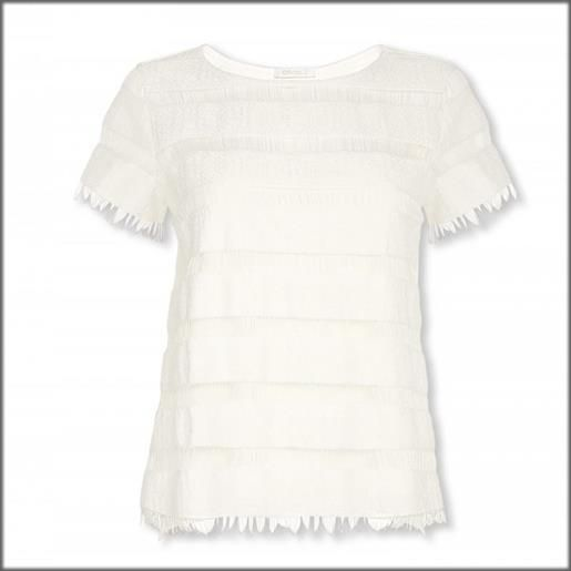 Oroblu t shirt donna maniche corte moonflower oroblu