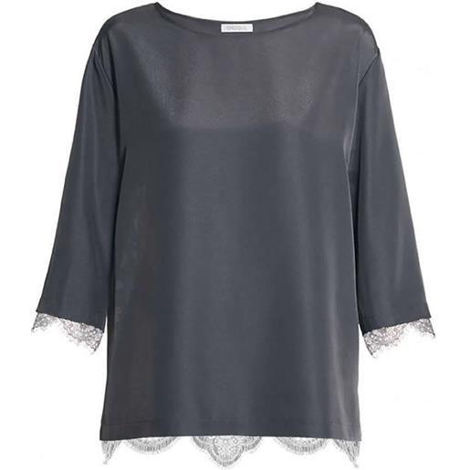 Oroblu t-shirt manica 3/4 da donna epoque blouse oroblu