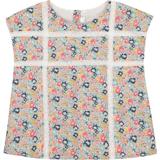 Bonpoint top suzie a stampa floreale in cotone