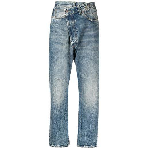 R13 jeans a vita alta - blu