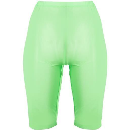 David Koma shorts a rete - verde