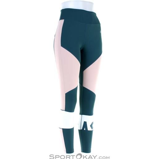 Asics color block cropped tight donna pantacollant