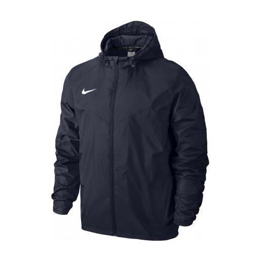 NIKE team sideline rain jacket-academy