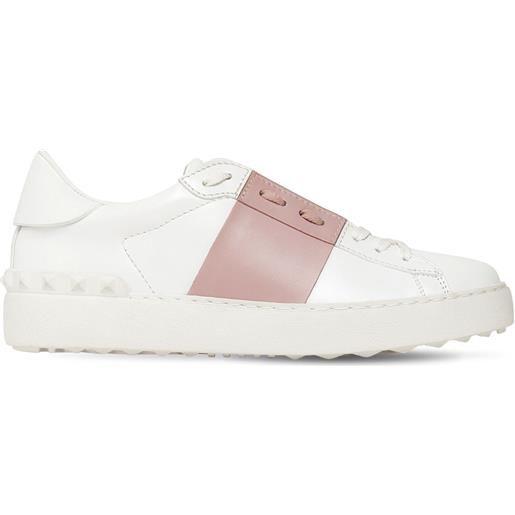VALENTINO GARAVANI sneakers open in pelle 20mm