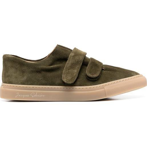 Mackintosh sneakers con chiusure a strappo - verde