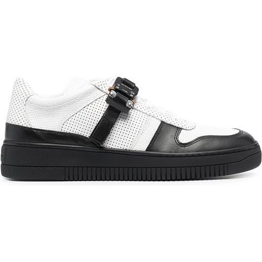 1017 ALYX 9SM sneakers con chiusure a strappo - bianco