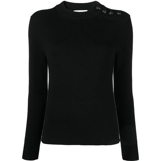 Paco Rabanne maglione a girocollo - nero