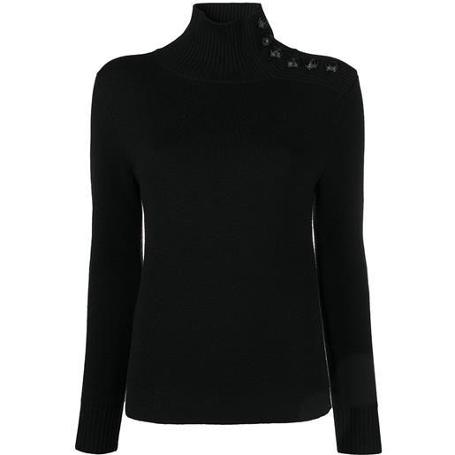 Paco Rabanne maglione a collo alto - nero