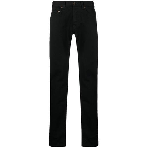 Saint Laurent jeans slim - nero