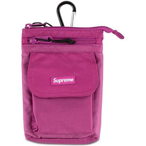 Supreme borsa a spalla con stampa - rosa