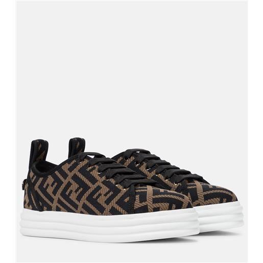 FENDI sneakers rise in maglia ff