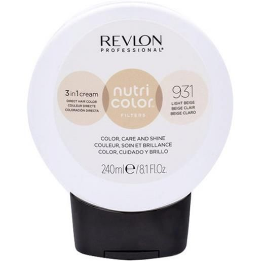 Revlon professional nutri color filters 931 - beige chiaro 240 ml / 8.10 fl. Oz
