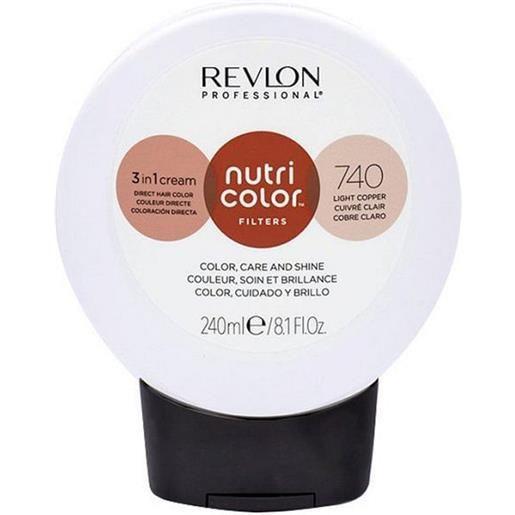 Revlon professional nutri color filters 740 - rame chiaro 240 ml / 8.10 fl. Oz