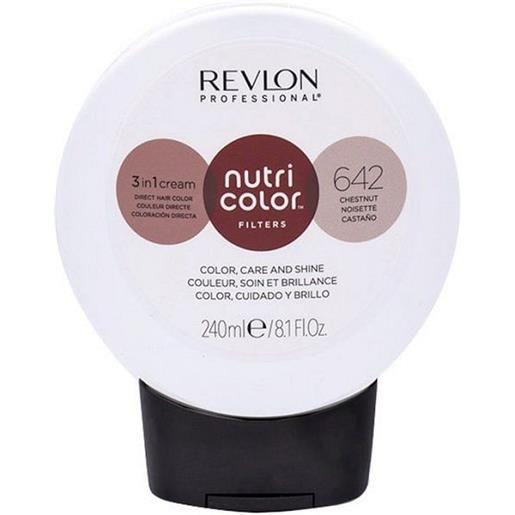Revlon professional nutri color filters 642 - castagna 240 ml / 8.10 fl. Oz