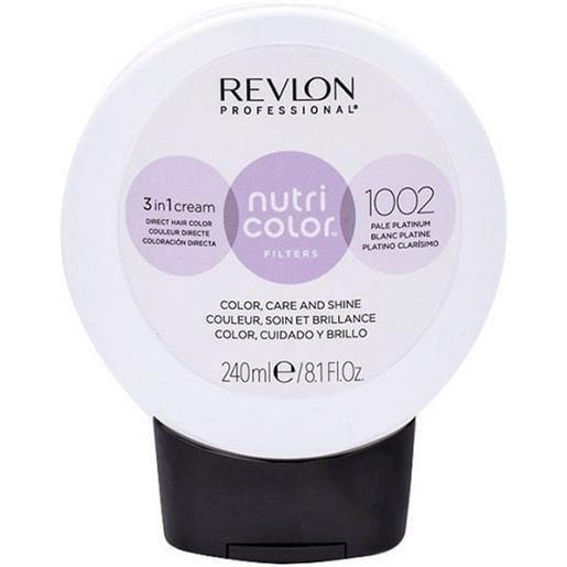 Revlon professional nutri color filters 1002 - platino chiaro 240 ml / 8.10 fl. Oz