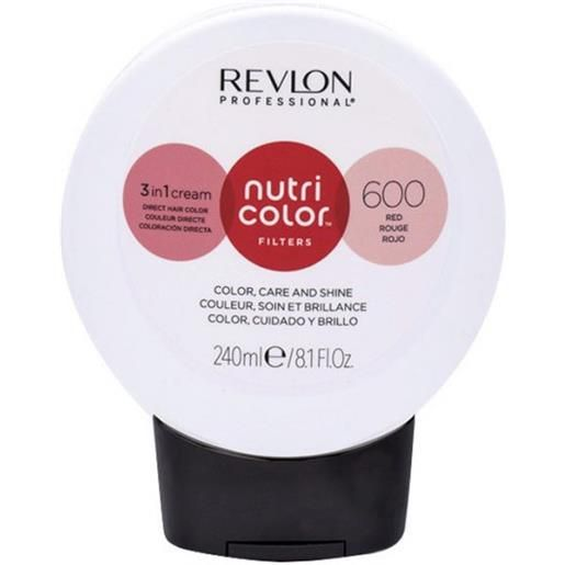 Revlon professional nutri color filters 600 - rosso 240 ml / 8.10 fl. Oz
