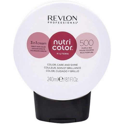Revlon professional nutri color filters 500 - rosso porpora 240 ml / 8.10 fl. Oz