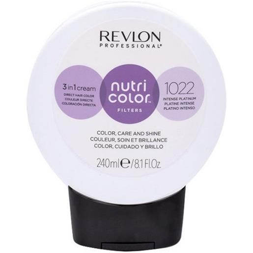 Revlon professional nutri color filters 1022 - platino intenso 240 ml / 8.10 fl. Oz