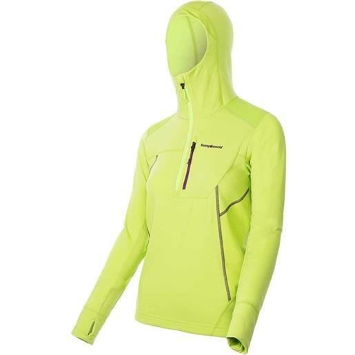 Trangoworld maglietta manica lunga iremel l lime green